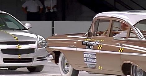 Crashtest Chevy