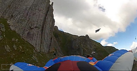 Wingsuit Action