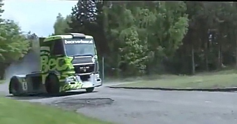 Ken Block LKW Drift