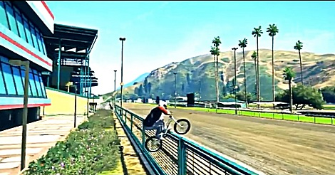 GTA V – BMX Freestyle