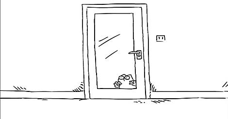 Simons Cat - Lass mich rein