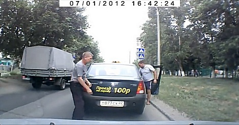 Taxifahrer sollte man in Russland…