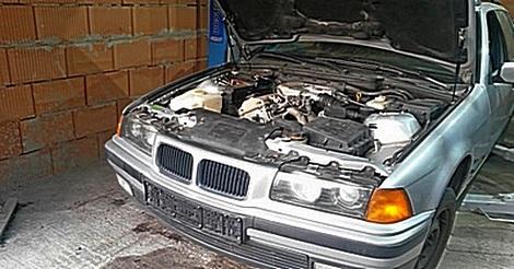 Motor ohne Öl