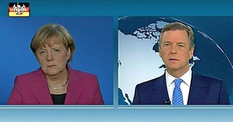 Merkel und Kleber