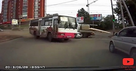 verrückte Busfahrer