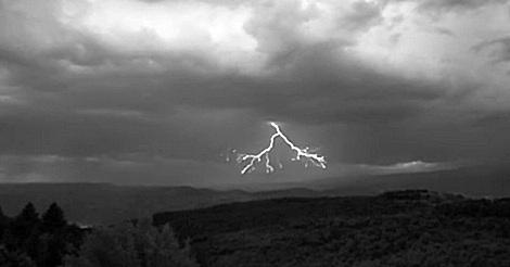 Blitze in Zeitlupe