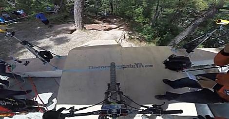 Downhill mit GoPro