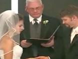 Lachanfall auf Hochzeit