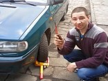Parkkralle entfernen