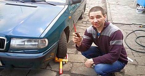 Parkkralle entfernen leicht gemacht
