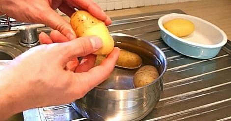 Kartoffeln schälen leicht gemacht!