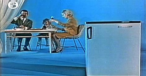 Kristall Kühlschrank – DDR Werbung