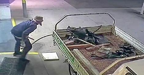 Geldautomat Diebstahl fail