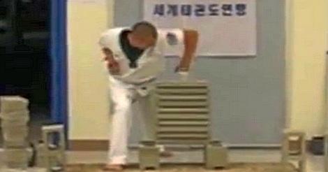 Karate Guy Fail