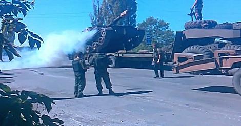 Panzer aufladen fail