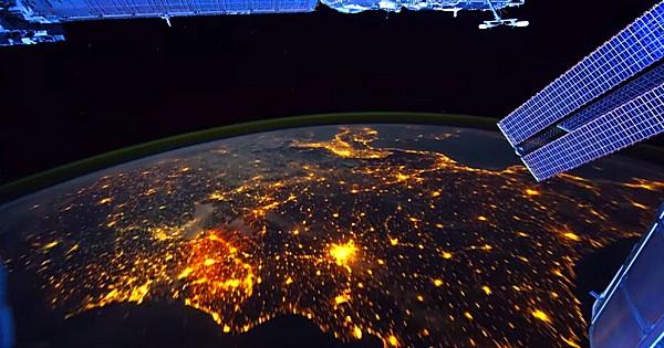 Zeitraffer Video von der ISS
