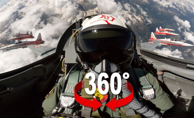 360° Video – in einem Kampfjet!