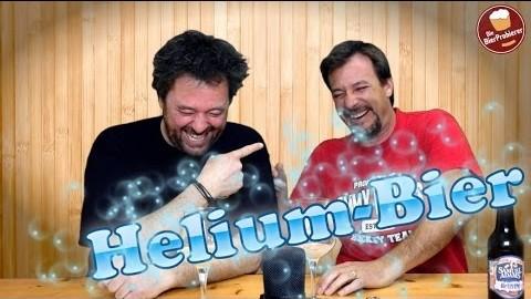 Bier Test: Heliumbier