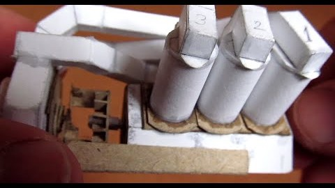 Funktionsfähiger Motor aus Papier!