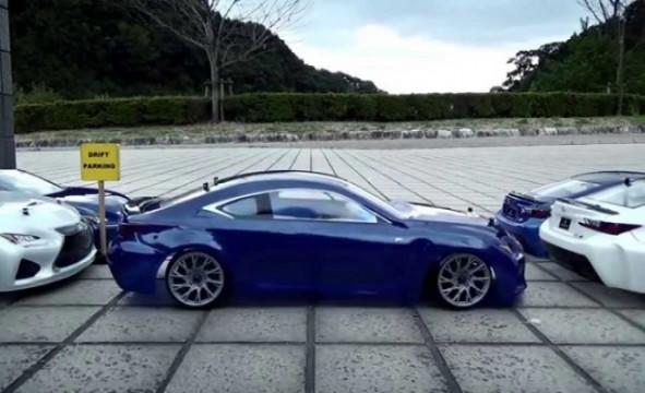 RC Lexus driftet perfekt