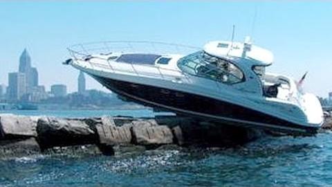Schiff und Boot Fails