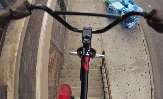 Mit dem BMX-Rad durch New York
