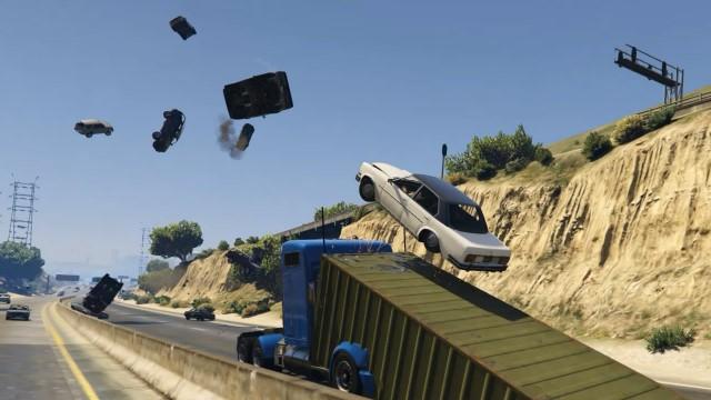 GTA 5 – verrückter Ramp Truck