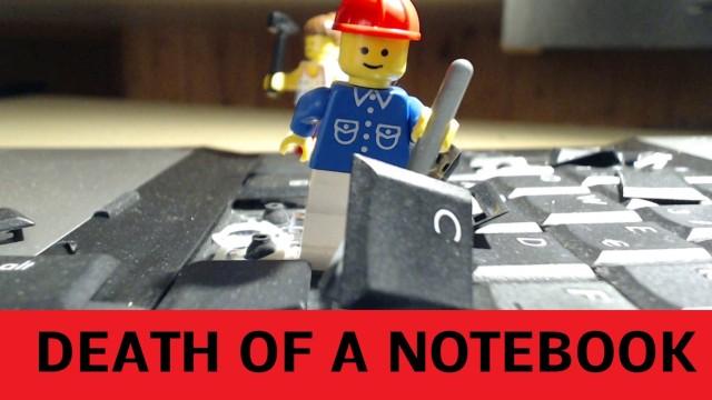 LEGO Laptopzerstörer