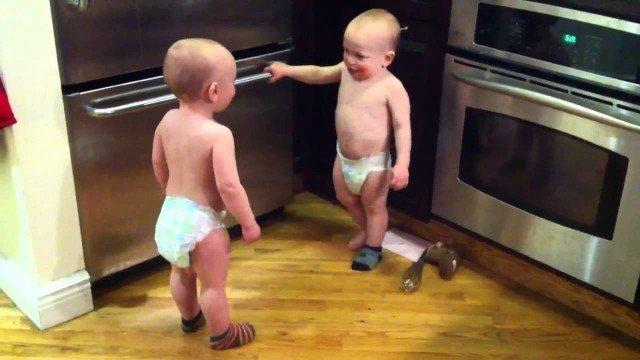 Spannende Baby Unterhaltung