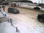 LKW verliert ein Rad während der Fahrt