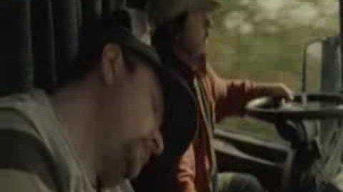 Müde LKW Fahrer