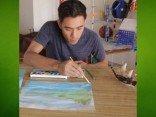 Zach King – realistische Wasserfarben