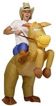 Pferd und Cowboy Kostüm