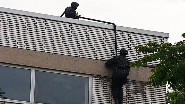 Geiselnahme in Chemnitz unblutig beendet