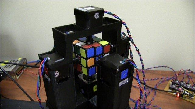 Zauberwürfel in 1 Sekunde lösen!