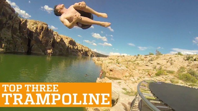 PEOPLE ARE AWESOME – Trampolin Tricks