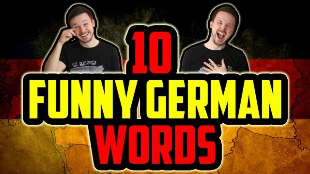 10 Funny German Words