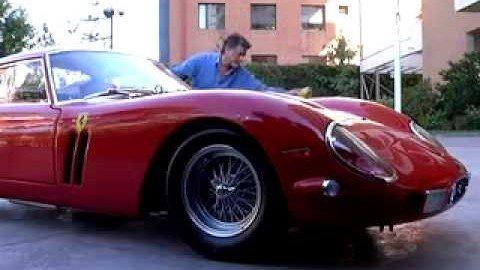 Ferrari gestohlen beim polieren