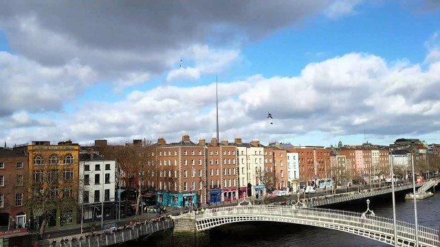 Jetpack Man in Dublin