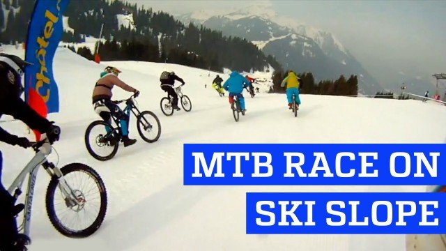 People are Awesome – MTB Race on Ski Slope