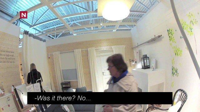 eingesperrt bei IKEA – versteckte Kamera