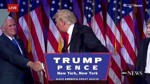 Donald Trump – Eisenhand!