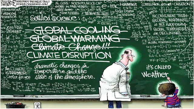 Nobelpreisträger entlarvt den Klimaschwindel