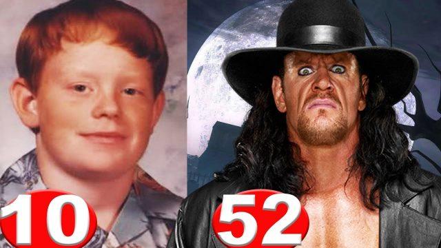Untertaker – von 10 bis 52 Jahre