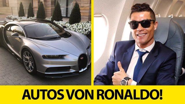 5 verdammt teure Autos, die Cristiano Ronaldo besitzt!