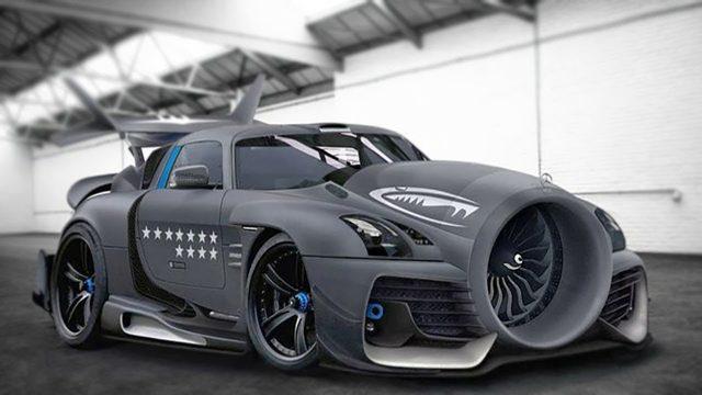 Die 10 Verrücktesten Autos Mit Jet-Motoren