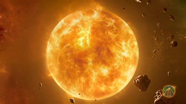 Die Sonne ist kalt und kein Feuerball