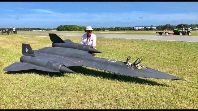 Giant Scale SR-71 Blackbird – Top Gun Invitational