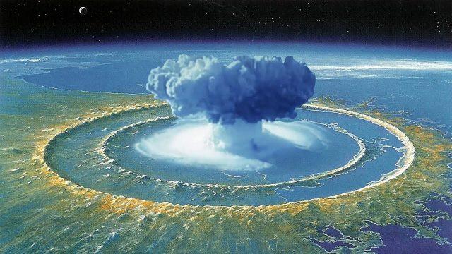 Was würde passieren, wenn man eine Atombombe im Marianengraben zündet?