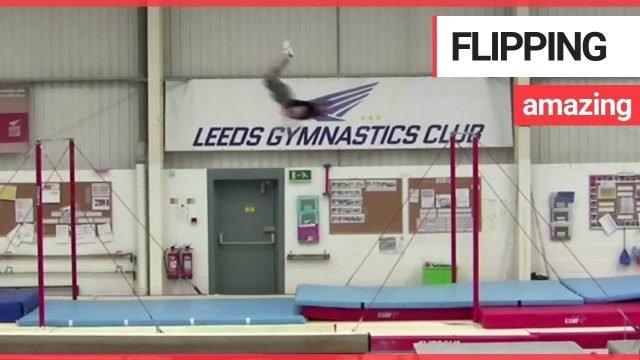Weltrekord am Reck – 6 Meter Flug
